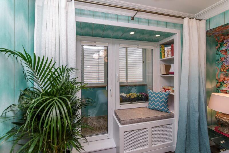 Какое окно выбрать при объединении комнаты и лоджии?